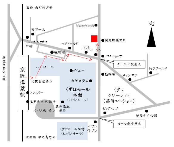 心身楽々堂略地図