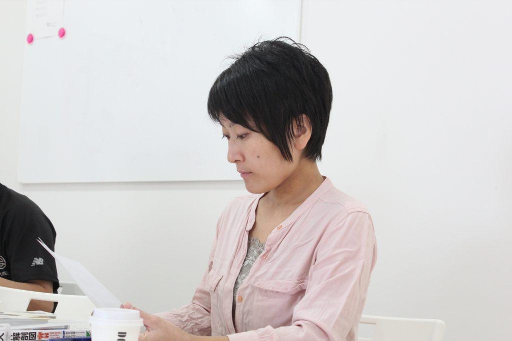 補助講師 吉瀬なつ紀先生