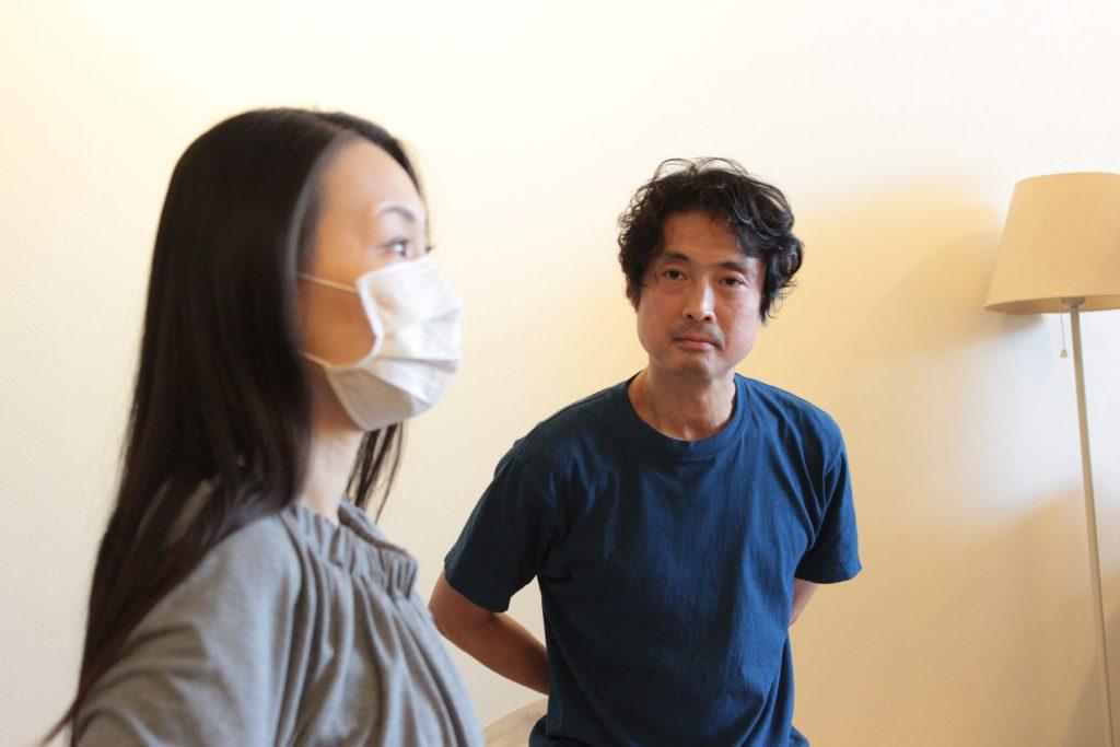 難波江先生、真剣に聴いています。