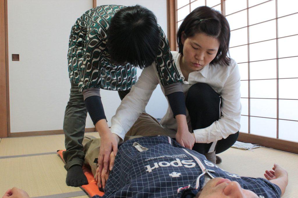 指導者研修中の吉瀬なつ紀先生