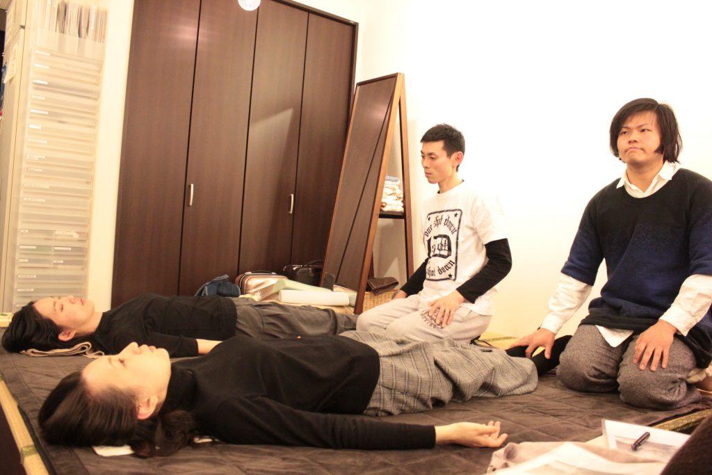 捻転法の練習