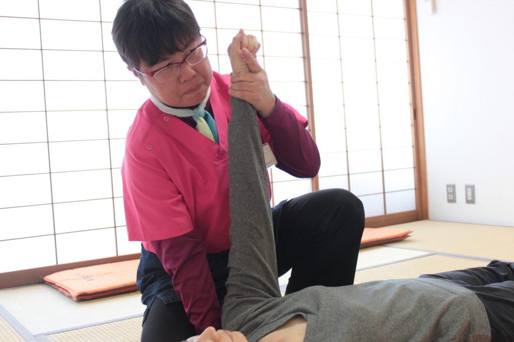 由美先生、上腕回転弛緩法