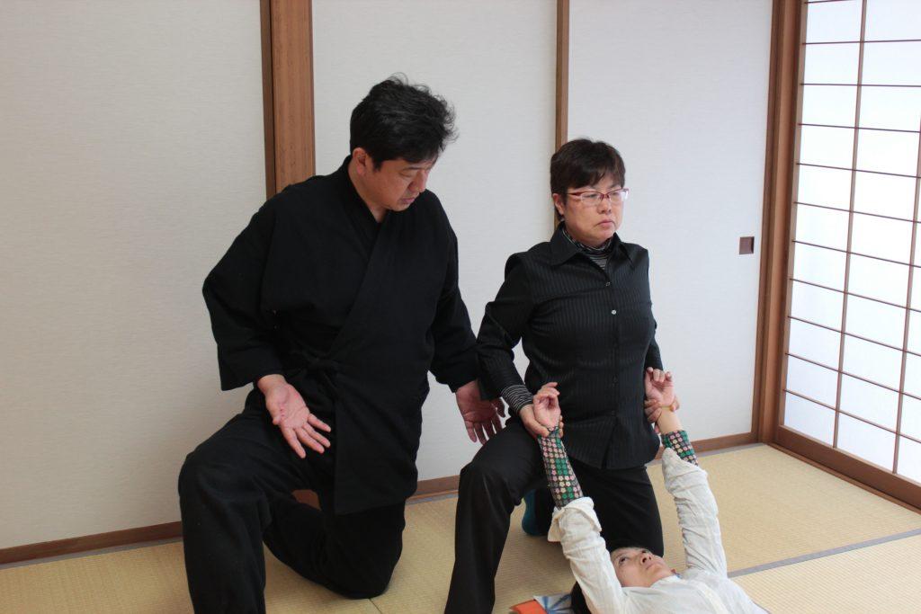 由美先生、基幹操法指導