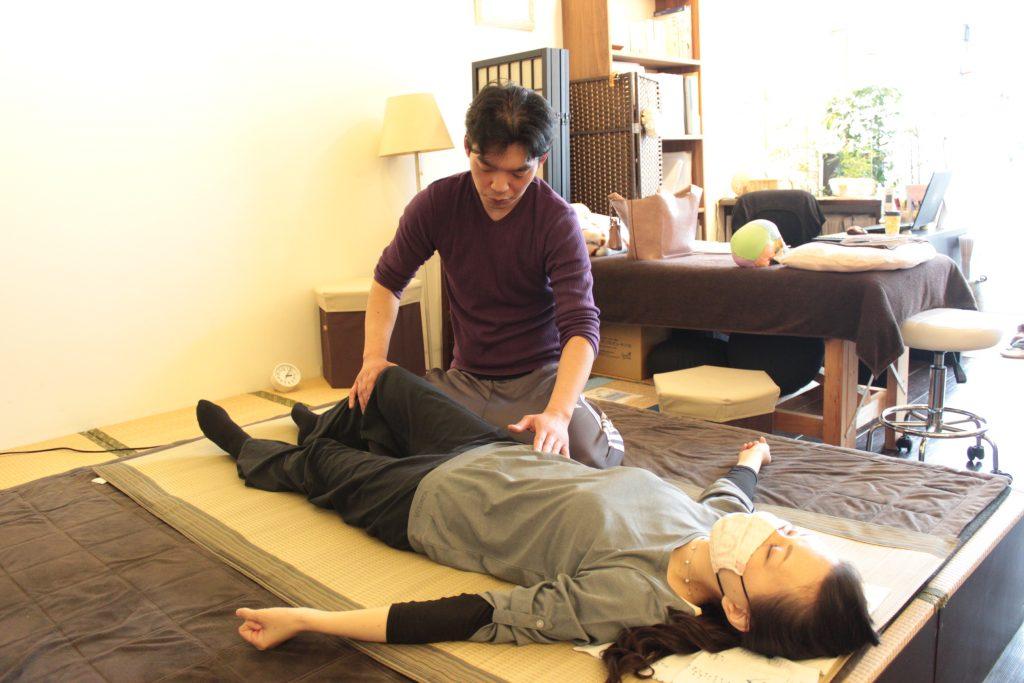 腹部弛緩法
