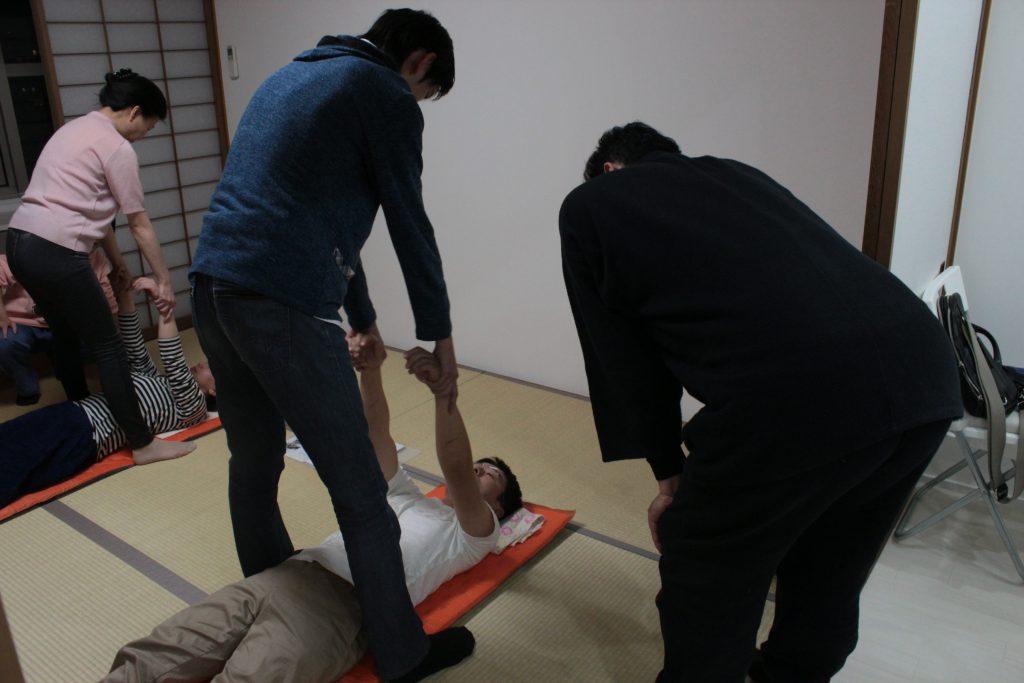 肩部可動法指導