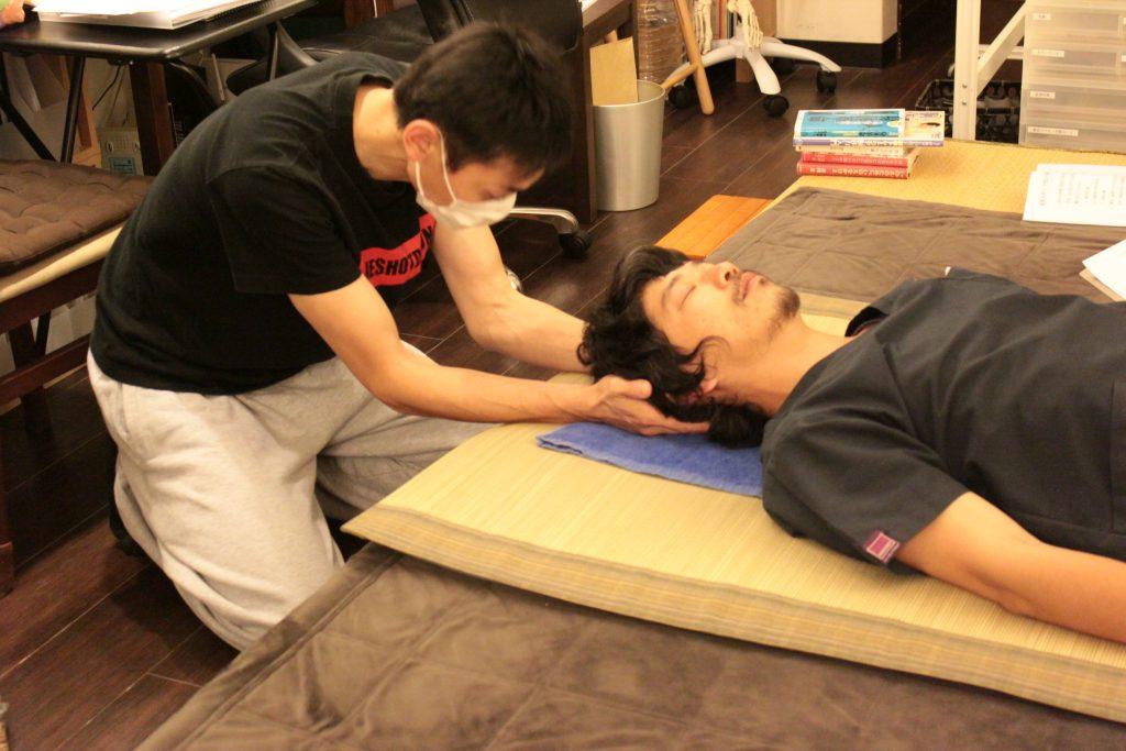 ベーシック・セブンの練習(静圧法)