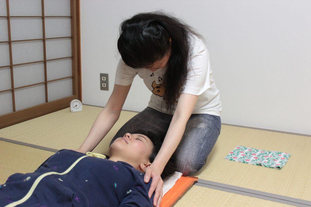 肩部静圧法