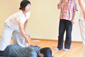 なつ紀先生実技指導1