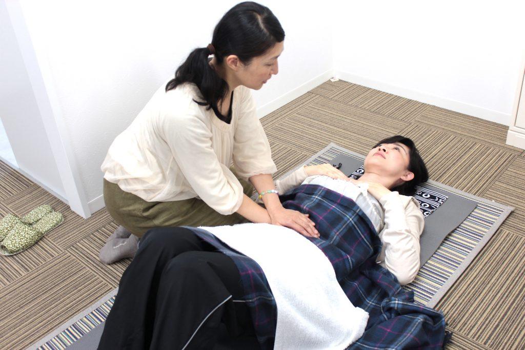 整腸セラピー施術体験