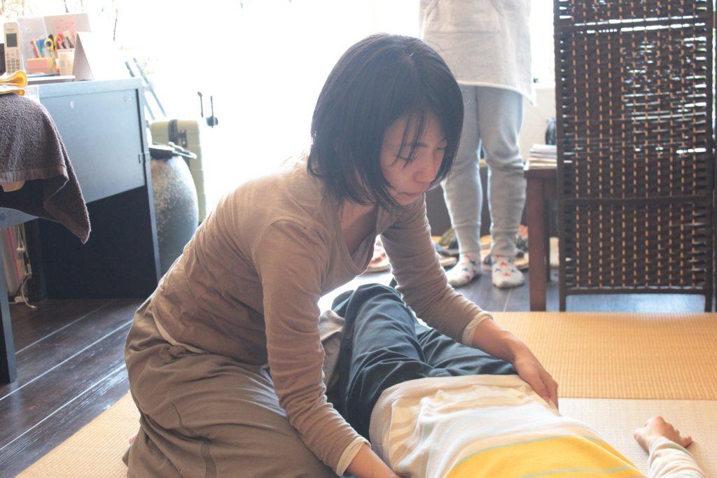 腰背部弛緩法