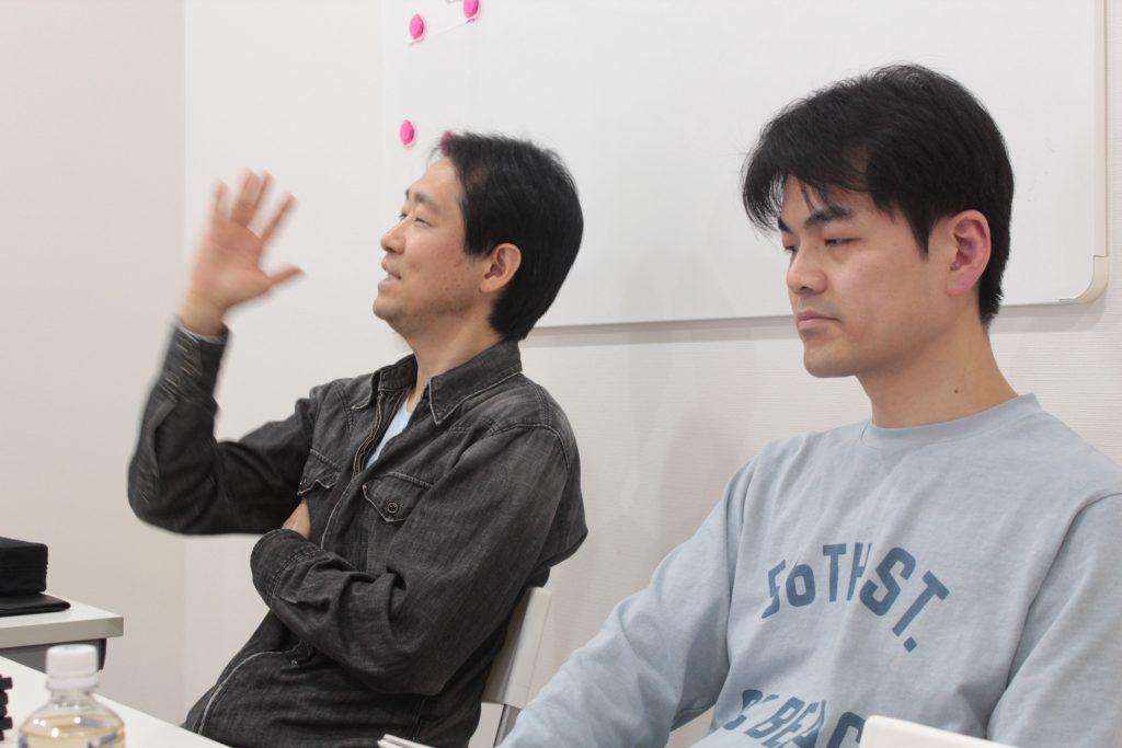 山野先生、條川先生